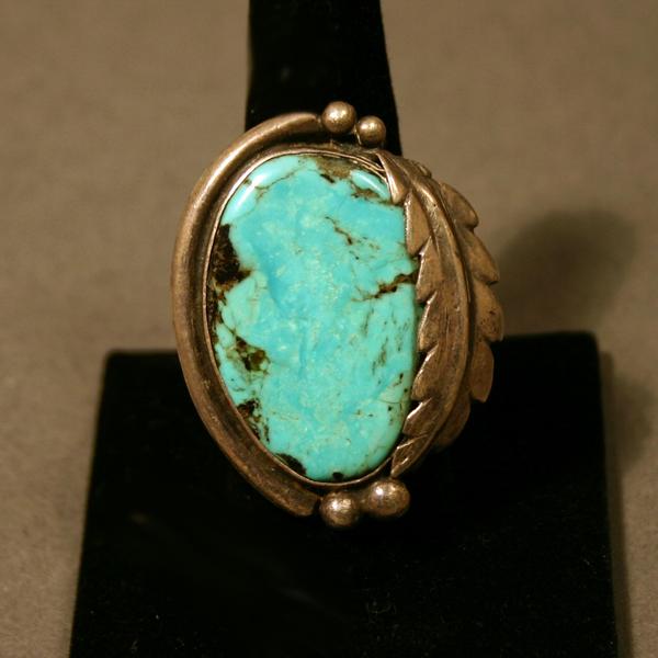 Navajo Wolf Ring