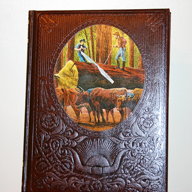 book western americana the old west the loggers time life
