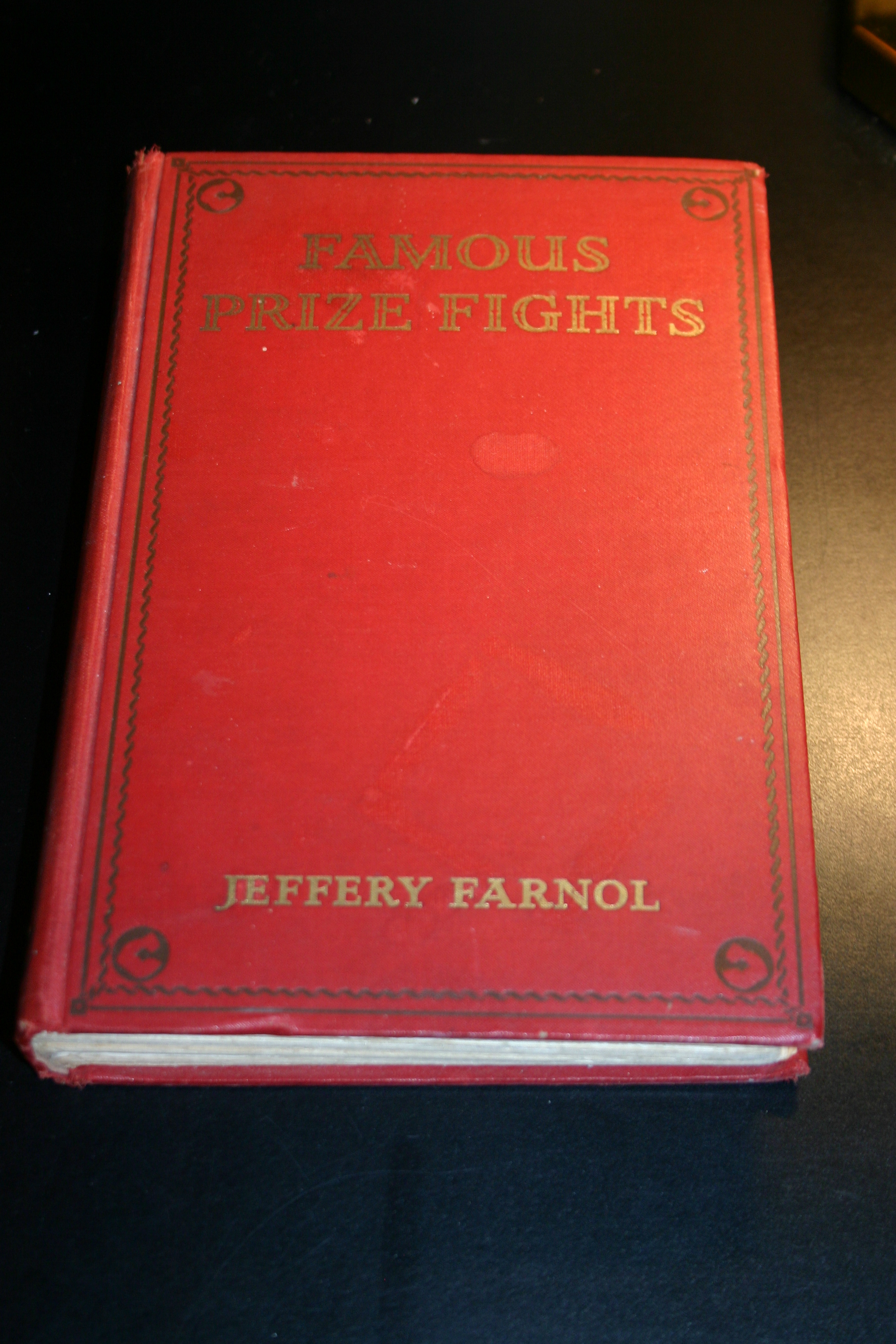 Famous prize fights 1st ed 1928 dancing wolf gallery famous malvernweather Images