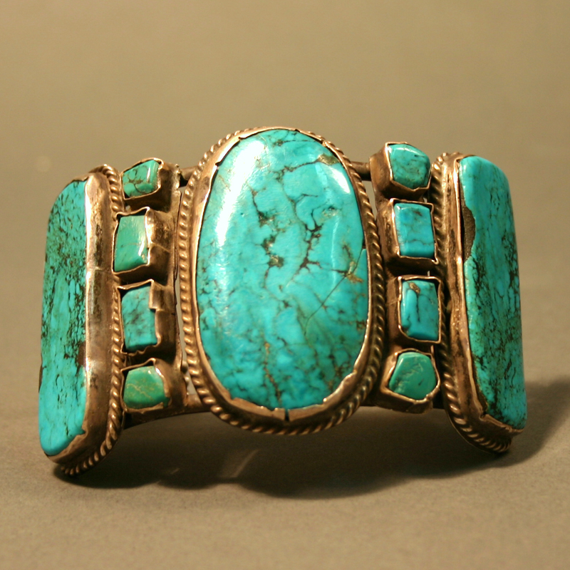 Bracelet Cuff American Indian Significant And Important 1950 1960s Navajo