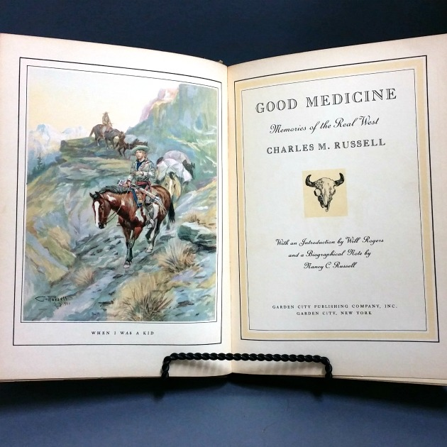 Charles m russell good medicine c 1930s 2nd printing dancing charles malvernweather Images